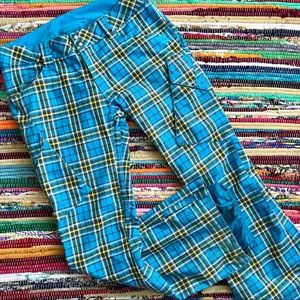 Burton ~ Dry Ride plaid snowboard pants